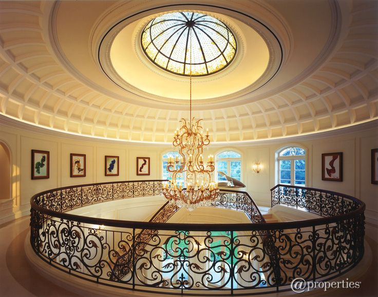 Grand Mansion In Chicago Illinois I Love The Circular Floor Plan Beautiful Architecture Residential Interior Decorating Design