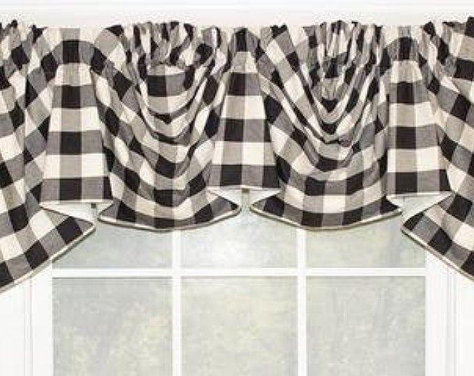 Custom Made Valance Ashley Hidden Rod Pocket Valance Fits Etsy In 2020 Valance Tie Up Shades Decorative Curtain Rods