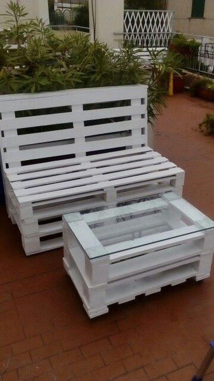 175 best Wooden Pallet Furniture images on Pinterest | Wooden ...