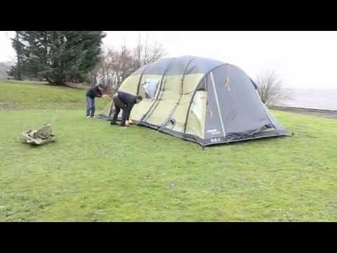 8 man inflatable tent vs Hurricane Bawbag