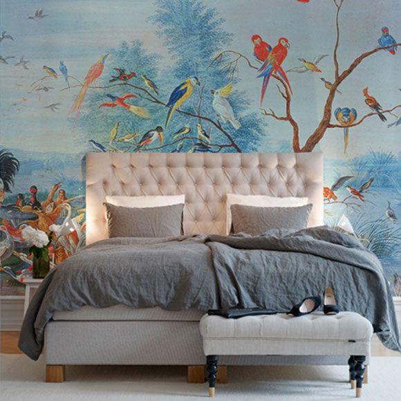 1000 id es sur le th me couleurs tropicales sur pinterest for Tableau avec papier peint