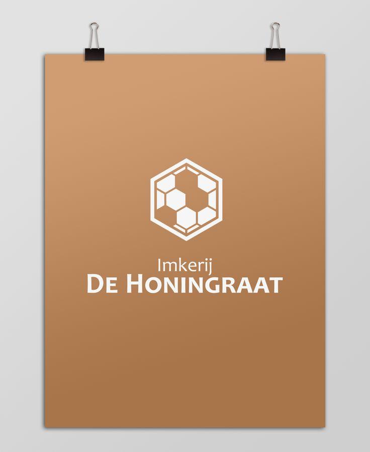 Logo design - Imkerij, De Honingraat