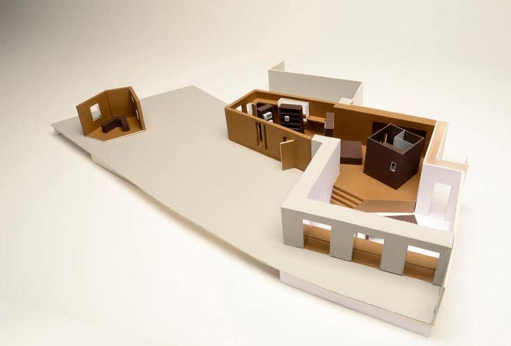 Model by Victoria Lin - Graduate Diploma Interior Design - UAL