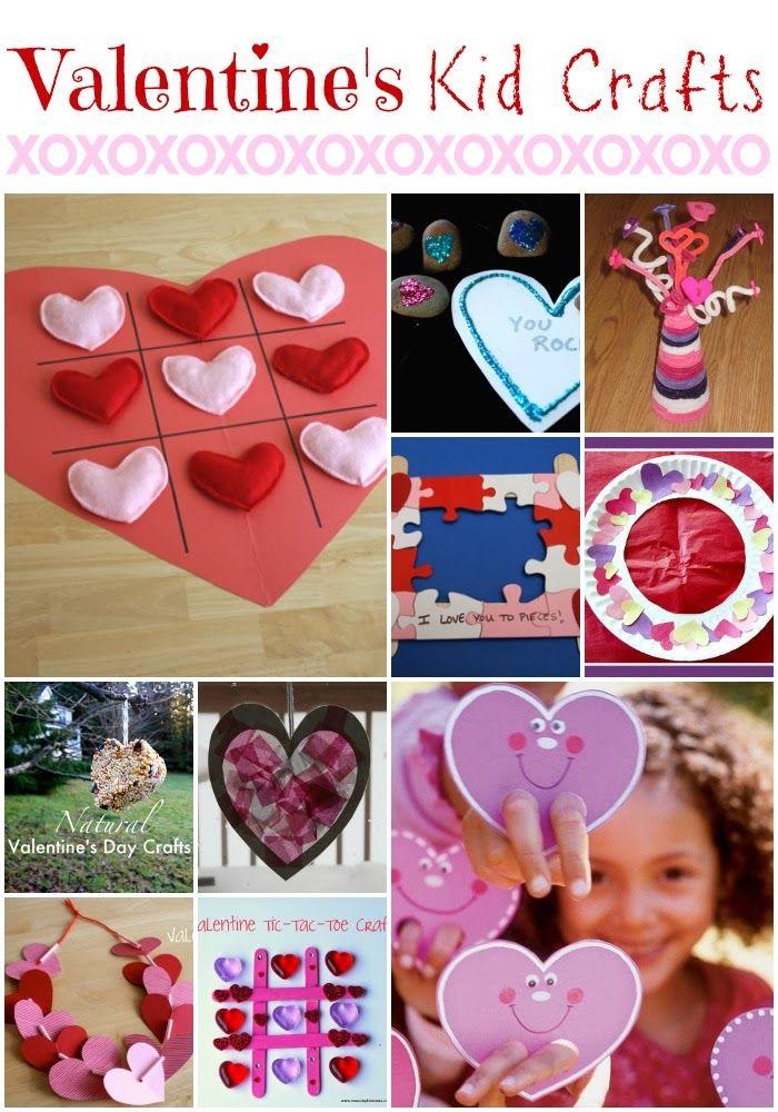 Back In A Stitch: Valentine's Kid Crafts {Round Up}