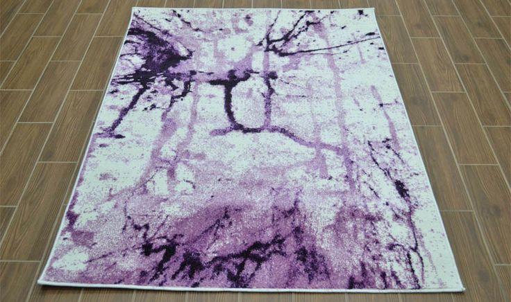 Tappeto disegno acquarello color lavanda