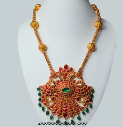 24K Gold jewelry pendant