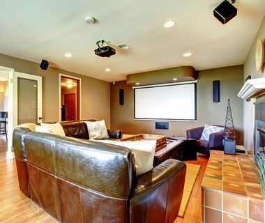 Living Home Theater Setup