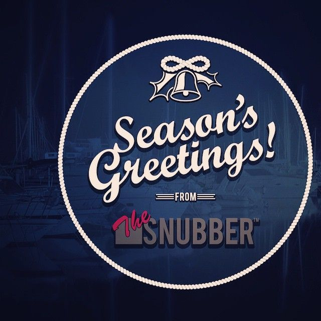 Seasons greetings from The Snubber! Order now and get 25 % off.