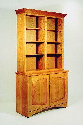 Delightful Back Bay Two Door Hutch Brookline Massachusettswooden Furniturehutchjoseph  Cabinets