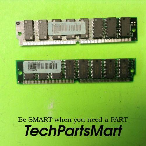 SIMM-8X32E 2 MEMORY CARDS RANDOM ACCESS