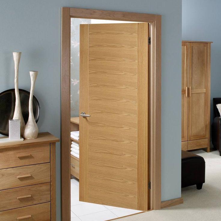Bespoke Aragon Oak Fire Rated Door - Prefinished.    #flushdoor #moderndoor   #door #firedoor #oakdoor #internaldoor #interiordesign #firerateddoor