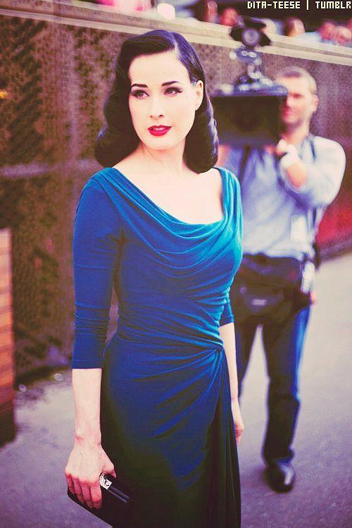 #Dita #blue velvet