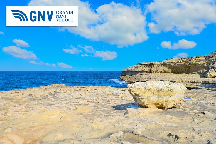 Rocky shore under huge clouds, #Porto_Torres, #Sardinia, #Italy. Discover #GNV routes from/to #PortoTorres here:http://www.gnv.it/en/ferries-destinations/porto-torres-ferries-sardinia.html