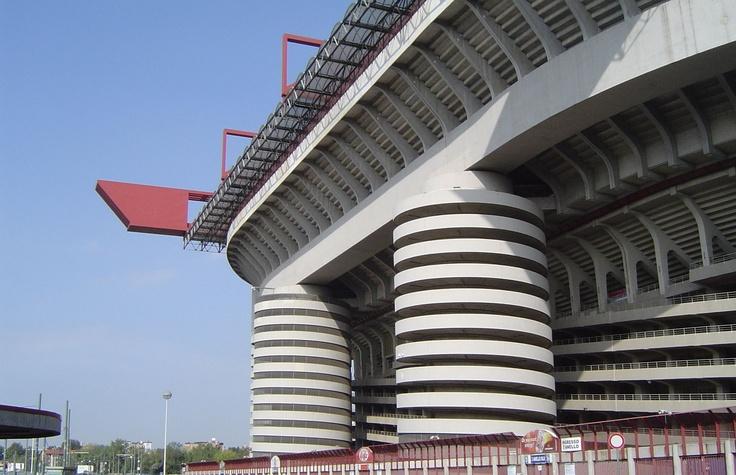 San Siro Stadium, Milan: Football Stadiums, Stadiums Design, Sports Stadiums, Siro Stadiums