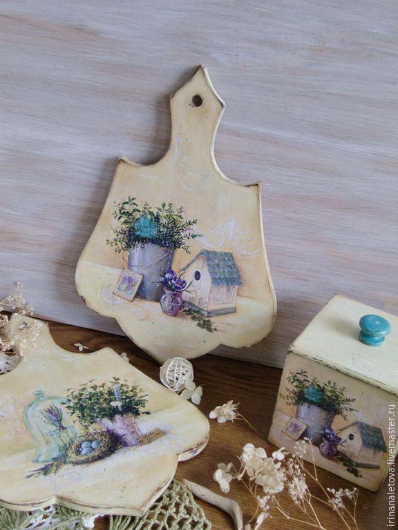 """Купить Досочки """"Травы прованса"""" - деревянная досочка, деревянная доска, разделочная доска, деревянные досочки"""