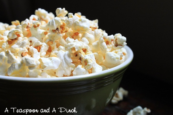 A Teaspoon and A Pinch: Lime & Salt Popcorn