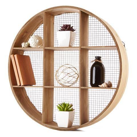 Round Cubby Shelf