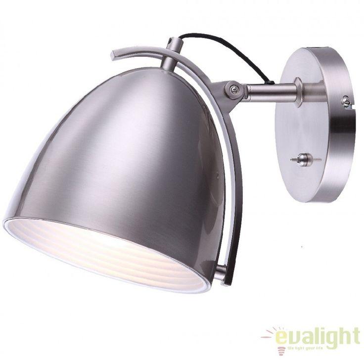 Aplica perete cu design Industrial Style, H-23cm, JACKSON 15130W Globo Lighting - Corpuri de iluminat, lustre, aplice