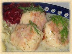 Domowa kuchnia Aniki: Pulpety z indyka w sosie koperkowo - chrzanowym