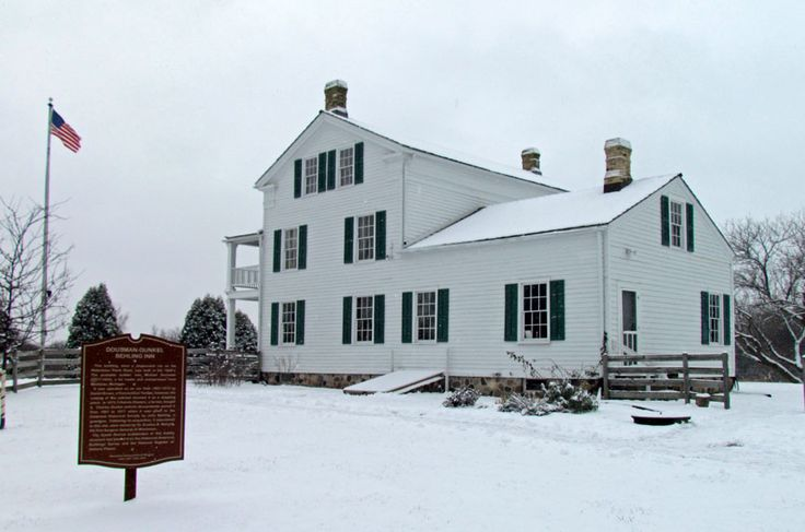 Dousman Stagecoach Inn, Brookfield, Wisconsin - Travel Photos by Galen R Frysinger, Sheboygan, Wisconsin