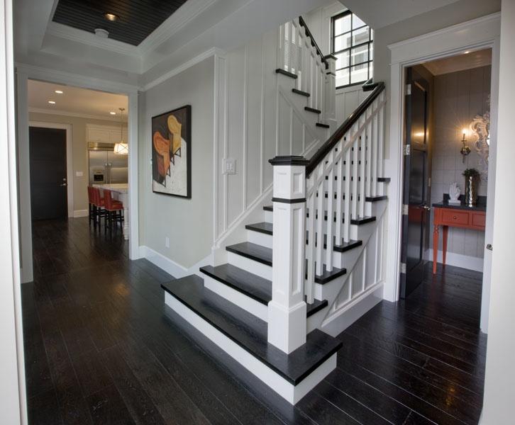 Unique Basement Stairs Construction