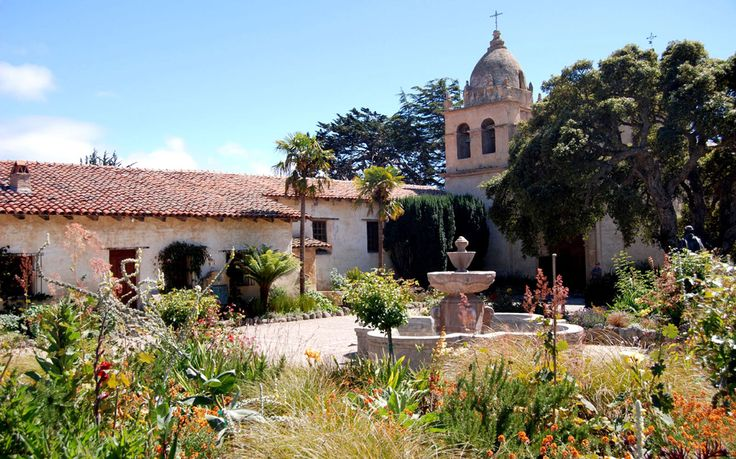 Carmel Mission, Carmel, CA - America's Most Beautiful Landmarks | Travel + Leisure