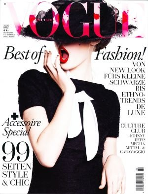 Vogue Germany March 2010.jpg - mylusciouslife.com - Vogue magazine covers