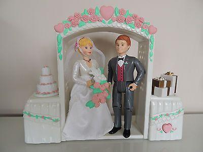 Fisher Price Figures Bride And Groom Wedding Set Loving