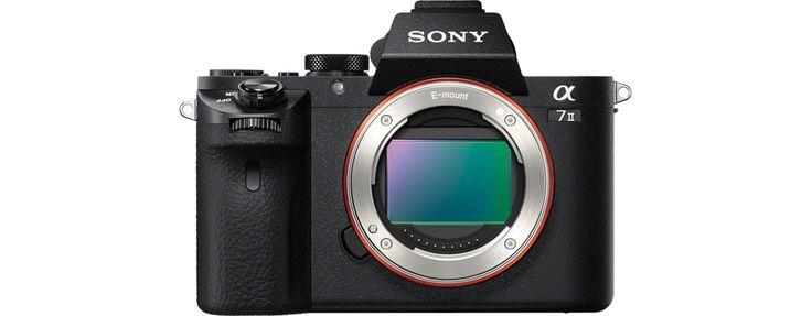 Images de Appareil photo α7 II de type E avec capteur plein format