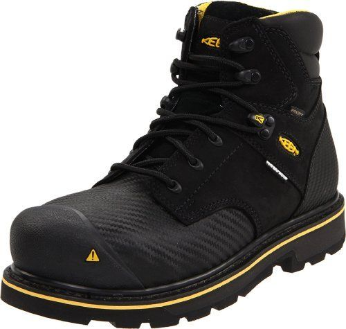 "KEEN Utility Men's Tacoma 6"" Steel Toe Work Boot on shopstyle.com"