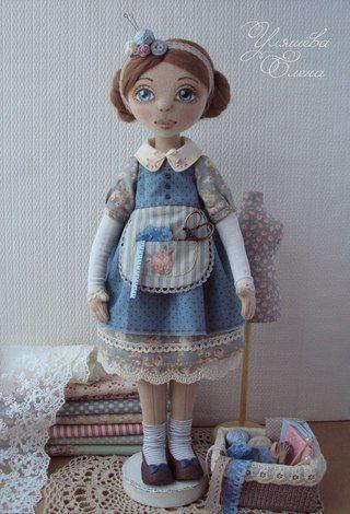 Авторская кукла Елены Уляшёвой   ВКонтакте