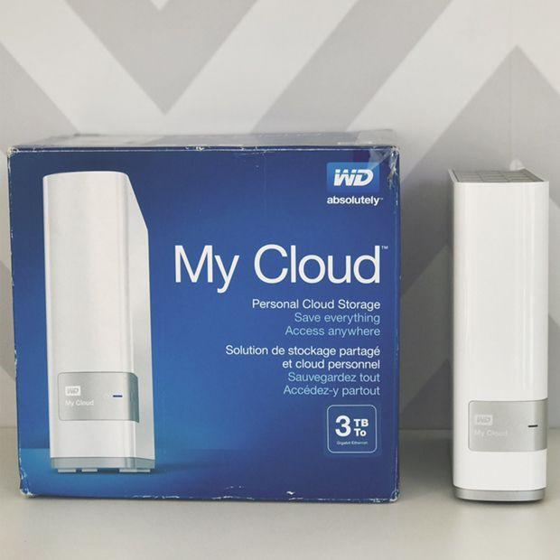 O My Cloud é uma unidade de armazenamento pessoal que se conecta à sua rede, faz automaticamente backup e centraliza todo conteúdo em um só local seguro.