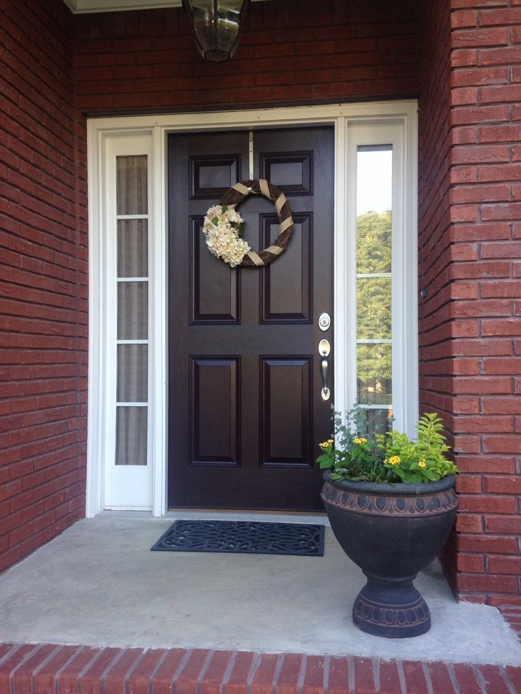 Sherwin Williams Raisin Front Door Color Exterior Door