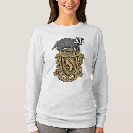 Harry Potter | Hufflepuff Crest with Badger T-Shirt - tap, personalize, buy right now!
