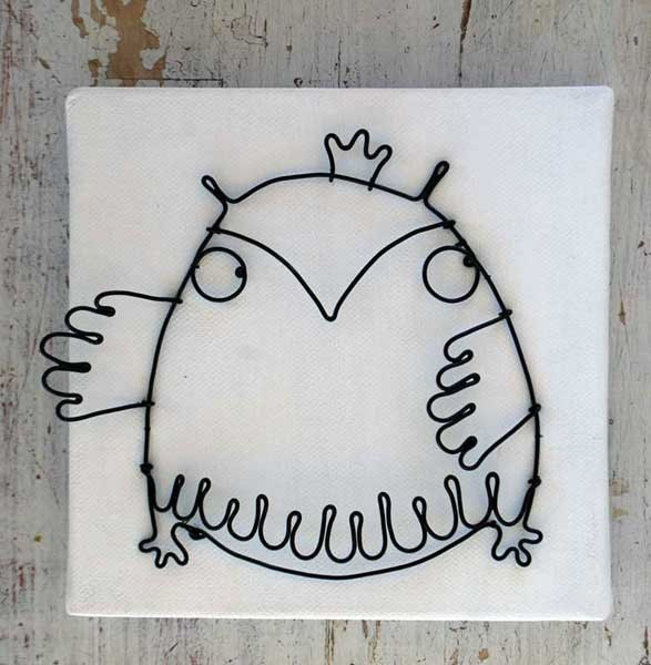 Owl king one by WireDreams on Etsy
