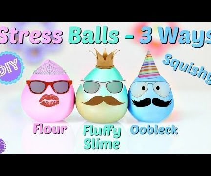 how to make a slime stress ball