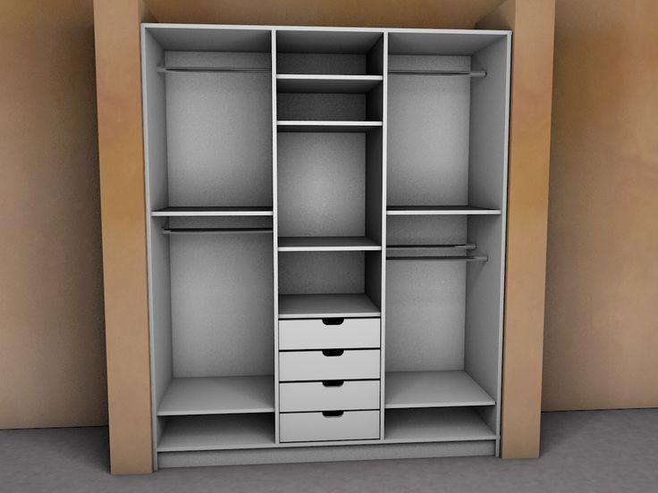 3D Design - Ντουλάπα μέσα