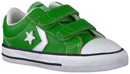 Groene Converse Sneakers STAR PLAYER OX KIDS