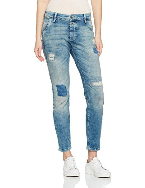Marc O'Polo Damen Jeanshose 701905912013, Blau (Summer Cloud Wash 077), W25