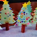 DIY Christmas Tree Toilet Paper Roll Craft For ...