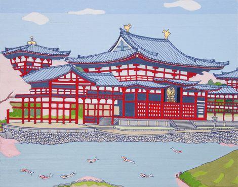 Kintaro Ishikawa, Byodoin (Kyoto) on ArtStack #kintaro-ishikawa #art