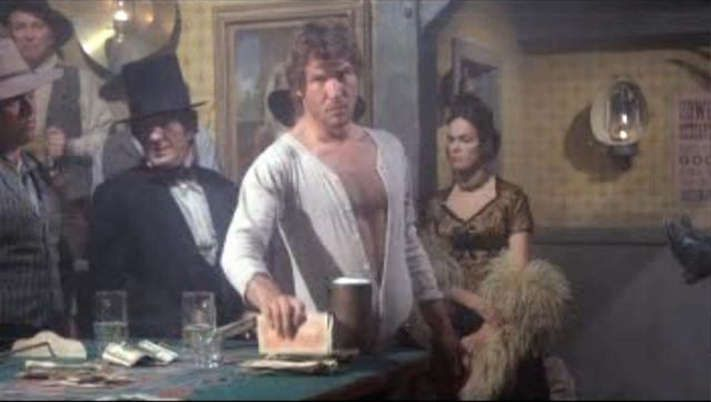 Harrison Ford  in The Frisco Kid 1979.