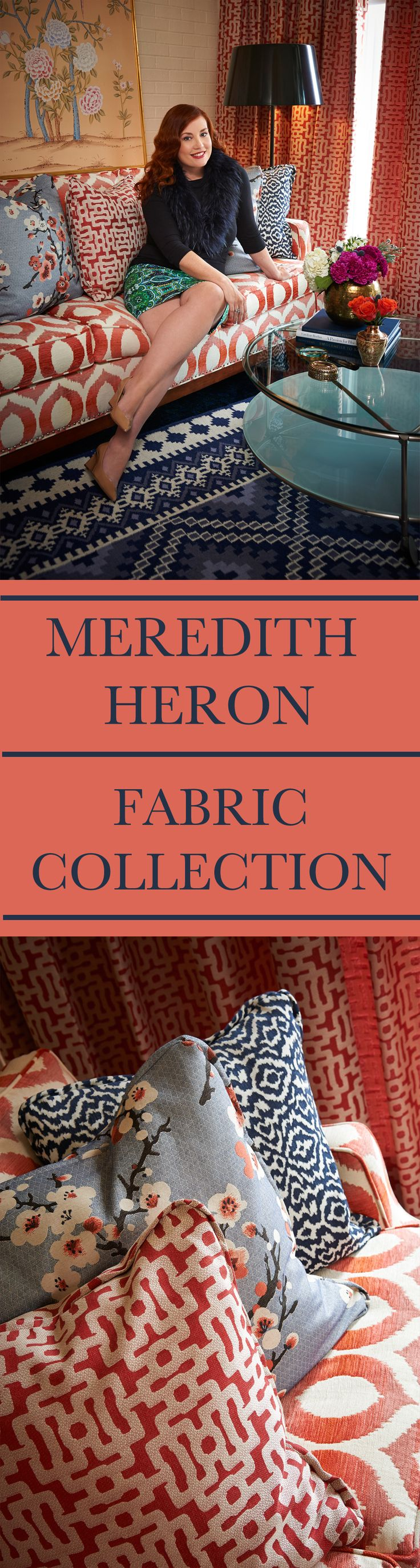 Meredith Heron Fabric Collection for jffabrics available at