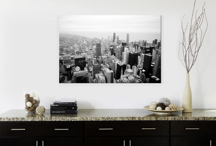 """A Cityscape Photo Canvas Print 