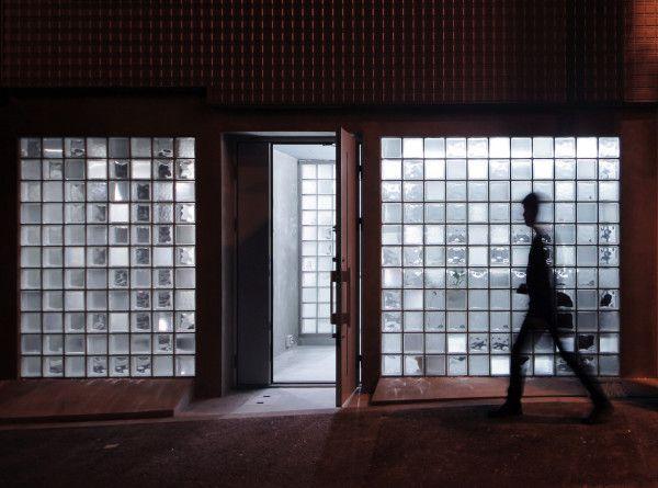 29 best GC images on Pinterest Bricks, Facades and Glass blocks wall - pose pave de verre exterieur