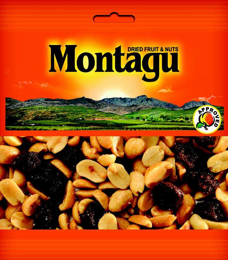 Montagu Dried Fruit - PEANUTS & RAISINS SNACK PACK http://montagudriedfruit.co.za/mtc_stores.php