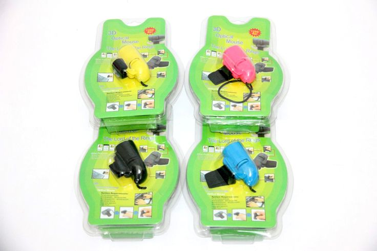 Mouse Jari dengan Kabel – Finger Mouse With Cable Rp 75.000