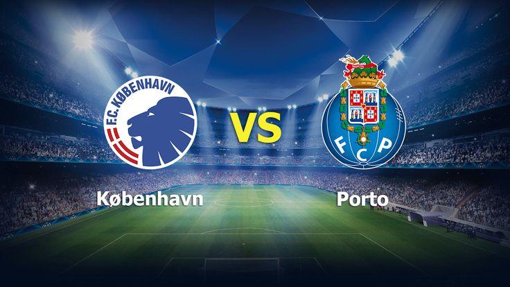 Ver København vs Porto EN VIVO Online UEFA Champions League 22 de Noviembre