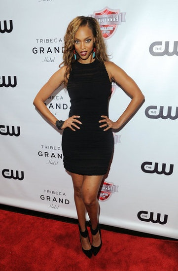 Tyra Banks at the premiere of America's Next Top Model: College Edition in New York