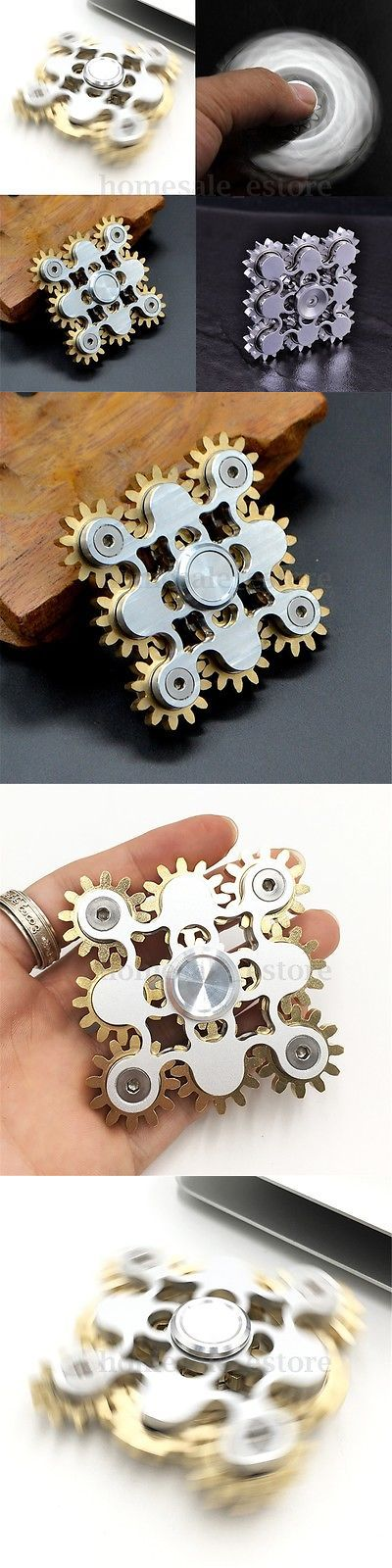 Squeezable Stress Relievers: Nine Gears Linkage Rotate Hand Spinner Adult Finger Spiral Stress Relieve Toys -> BUY IT NOW ONLY: $38.99 on eBay!